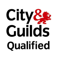 We are qualified with City & Guilds.