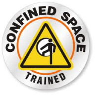 We've got our Confined Space Training certificate.