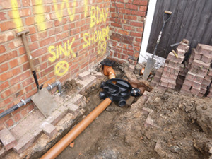 Sewer Installation - 3