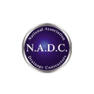 We're accredited by the National Association of Drainage Contractors.